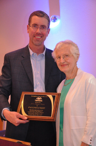 Pauline Knight was presented the 2015 Legacy Award